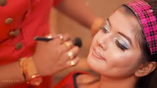 Indian Engagement Party Princess Makeover | Makeup Artist Sunil Jaiswal | Photographer LOukik Das |