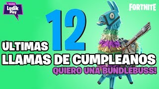 LAST CALLS OF BIRTHDAY, I WANT A BUNDLEBUSS! FORTNITE SAVE THE WORLD Spanish Gameplay