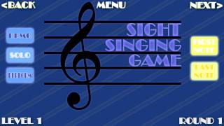 The Sight Singing Game!