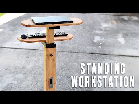 DIY Standing Desk / Adjustable and mobile