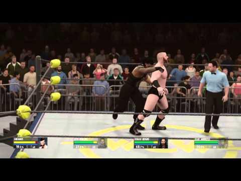 WWE 2K16   How to do a triple Power Bomb...