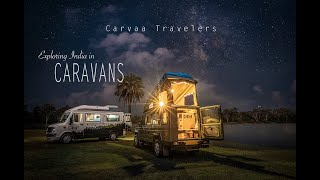 Exploring India in Caravans | Carvaa Travelers | Vanlife in India