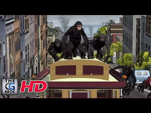 """CGI 3D Previz :""""Rise Of The Planet Of The Apes"""" - by Image Engine 