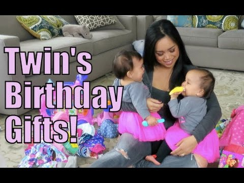 Twins 1st Birthday Gifts