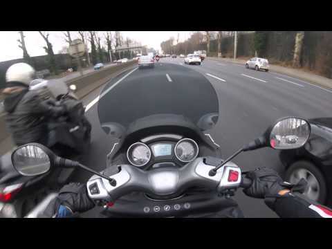 Piaggio MP3 LT 500 ABS/ASR - Day 2 - Aller