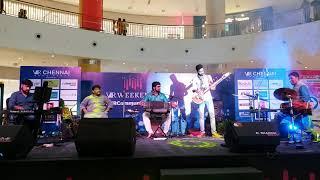 #06 SPANDA Concert at V.R.Chennai Mall | Sarvesh Karthick