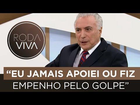 Michel Temer fala sobre impeachment de Dilma Rousseff