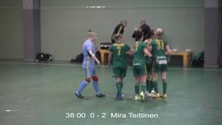 Naisten futsal-liiga 2019-2020 / Ylöjärven Ilves vs. Ilves FS maalikooste 7.12.2019