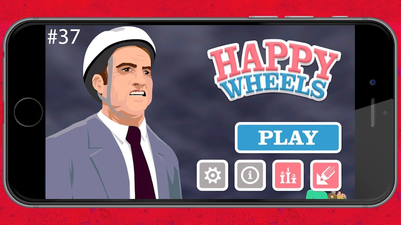 happy wheels mobile game