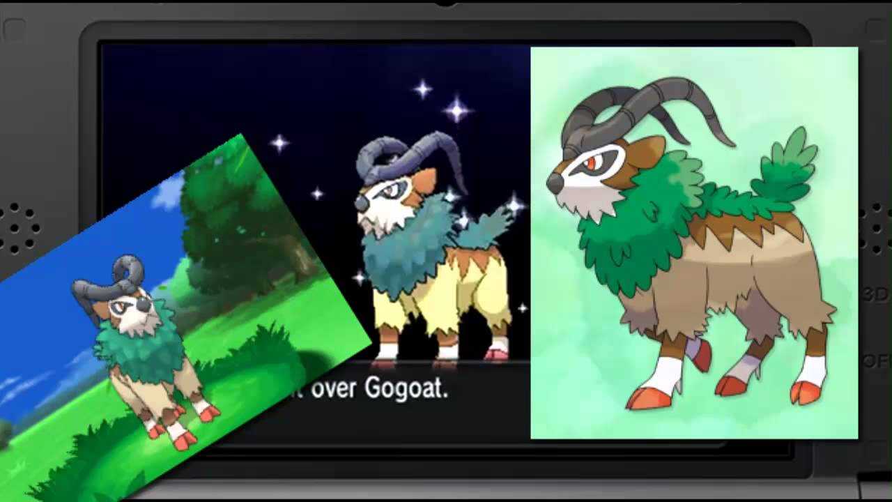 how to ride a gogoat in pokemon x