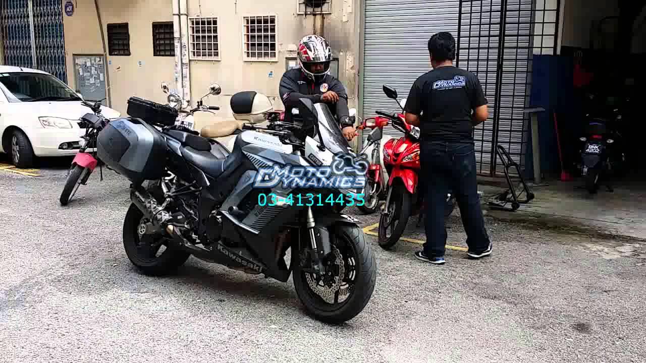 Kawasaki Z1000SX Bazzaz ZFI Testing