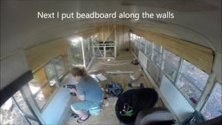 Tiny House Bus Part 3