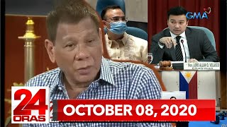 24 Oras Express: October 8, 2020 [HD]