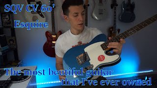 Squier Classic Vibe 60' Custom Esquire FSR Lake Placid Blue - First Impressions and Review