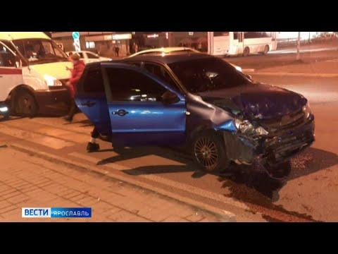 Серьезные аварии на территории Ярославской области и страшная находка в Данилове