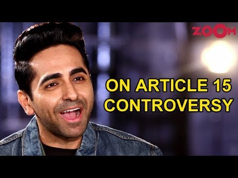 Ayushmann Khurrana SLAMS the rumours against his film Article 15 | Exclusive Interview Mp3