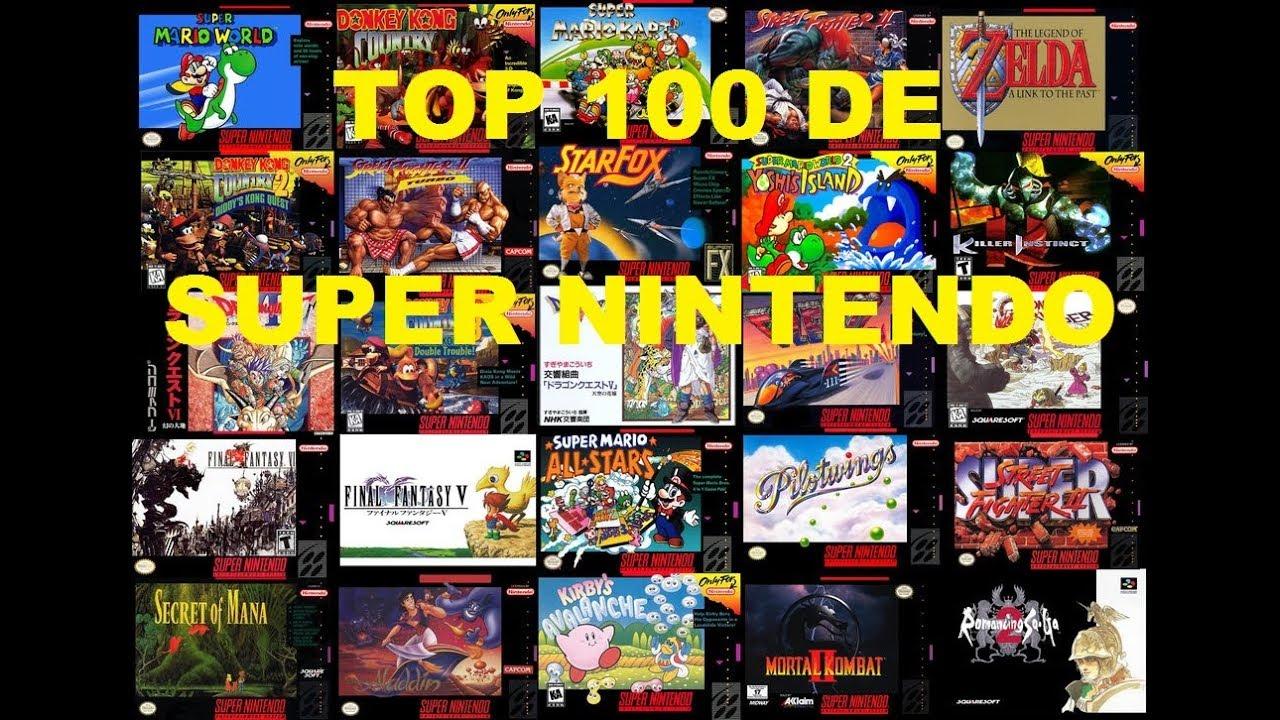 Top 100 Super Nintendo Hyperspin Youtube