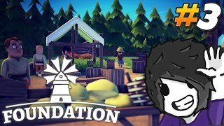 Foundation Gameplay - Trade Routes and New Zones - Ep 3