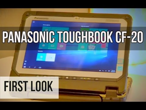 Panasonic Toughbook CF-20 Laptop First Look | Digit.in