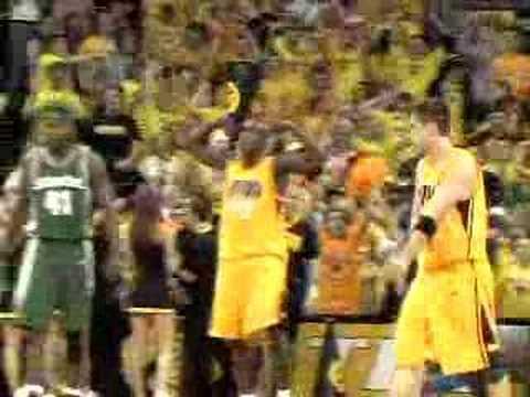 Iowa Mens Basketball Doug Thomas Dunk Reel YouTube