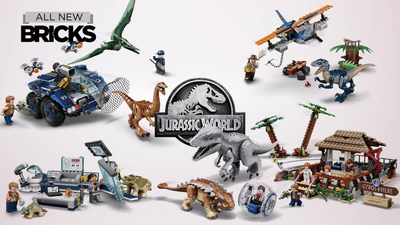 Lego Jurassic World Compilation Of All 2020 Sets Youtube