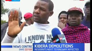 Kibera residents rendered homeless as government agencies evict settlers