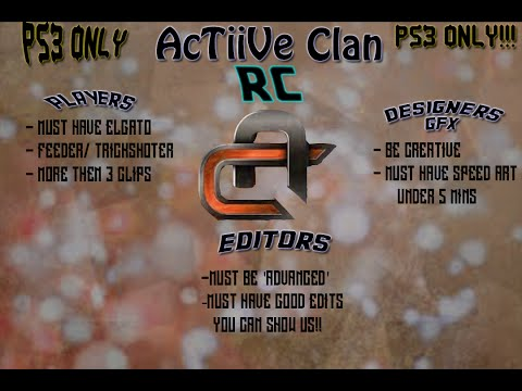 AcTiiVe Clan recruitment challenge #AcTiiVeRC