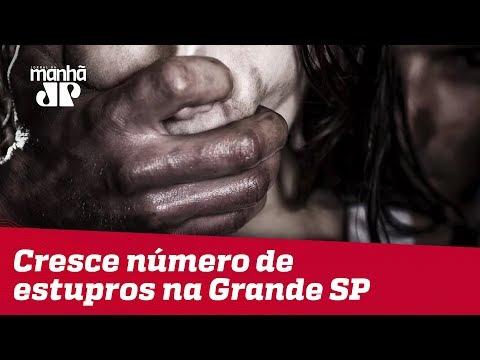 Cresce Número De Estupros Na Grande SP