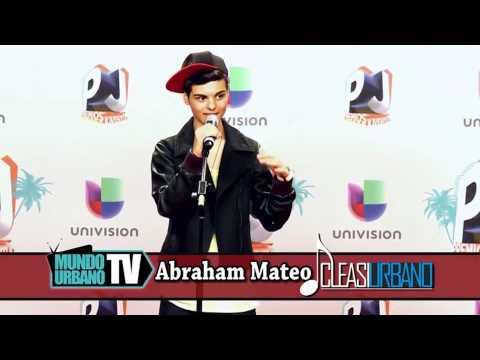 Abraham Mateo - Rueda de prensa en Premios Juventud 2013 (Miami)