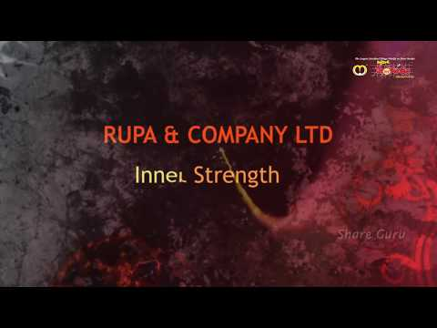 RUPA and COMPANY LTD - High probability for Attractive Returns, BSE Code - 533552