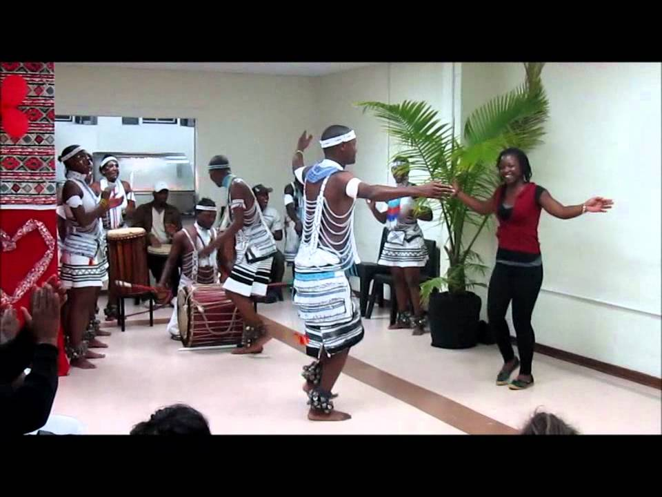Traditional Xhosa Dancers Youtube
