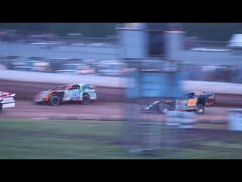 2/2 Jeff Spacek Heat Race ABC Raceway 6-18-2016