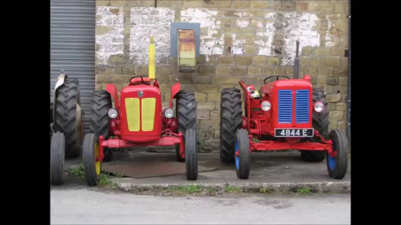 David Brown Tractor Club Museum Visit