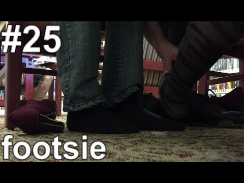 [AoS025] - footsie (wife rubs my arm !?)