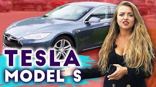 TESLA MODEL S. Обзор электромобиля. Характеристики и дизайн суперкара. КРУИЗ БЕЗ КОНТРОЛЯ   13+