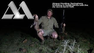 Airgun Hunting: Springhare Shooting in South Africa with the Air Arms S410 TDR