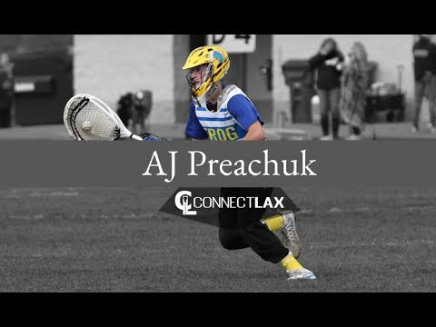 AJ Preachuk Lacrosse Highlights | MN 2021 | Goal