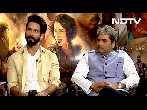 Shahid Kapoor Decodes 'Rangoon' Director Vishal Bhardwaj