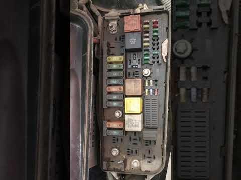 Opel Vectra c fuse box digram - YouTube