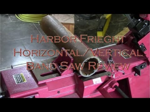 Habor Frieght 4x6 Horizontal/Vertical Band Saw