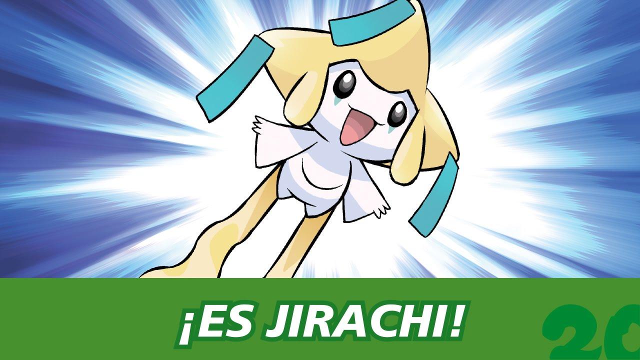 Celebra Pokemon20 Con El Singular Pokémon Jirachi Youtube