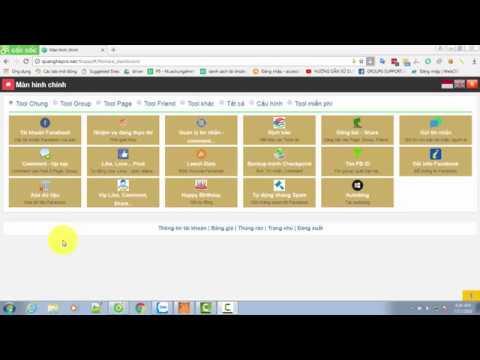 Hướng dẫn sử dụng tính năng leech data của tool Facebook marketing quanghepro.net