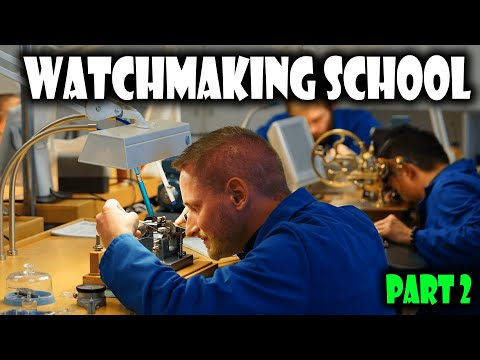 Watchmaking School Visit In Le Locle Switzerland Part 2 – KHWCC