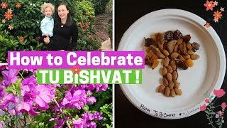 CELEBRATING TU BISHVAT!!! Tu Bishvat Seder Crafts, Songs, Hiking!