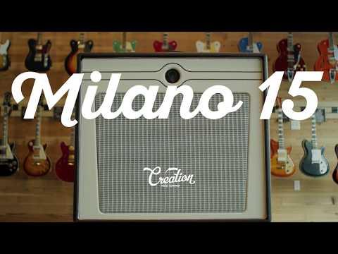 Creation Music Milano 15 Amp Demo