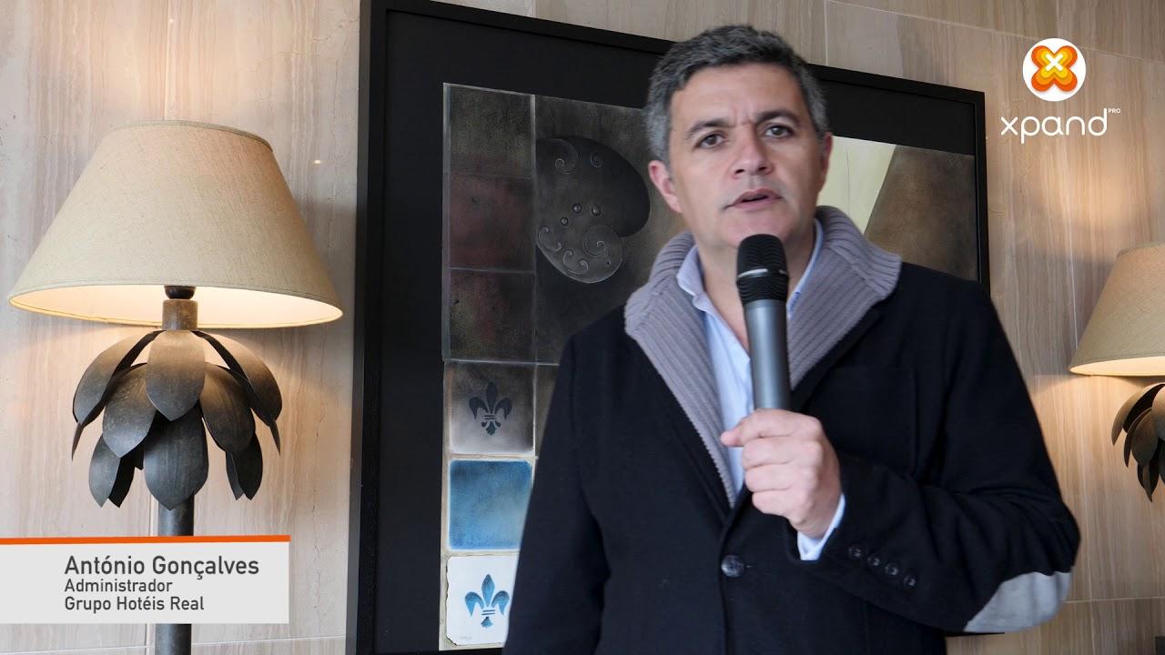 Testemunho António Gonçalves - Administrador - Grupo Hotéis Real