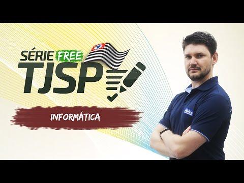 Informática - TJ SP 2017 - Windows 10 - AlfaCon Concursos Públicos