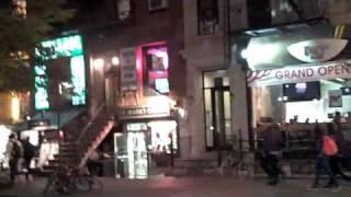 Saint Mark's Place East Village New York City NYC