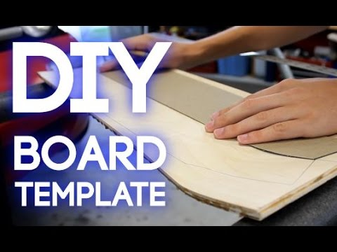 How to make a longboard template cashedoutboards youtube for Longboard template maker