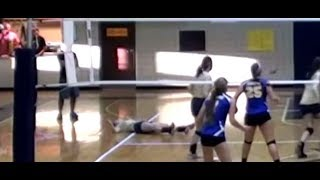 Sudden Cardiac Arrest Volleyball Teen Collapses WARNING GRAPHIC